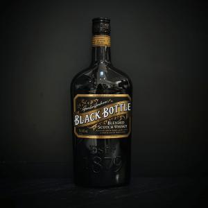 Whiskys : Blended Scotch Whisky - Gordon Graham's - Black Bottle