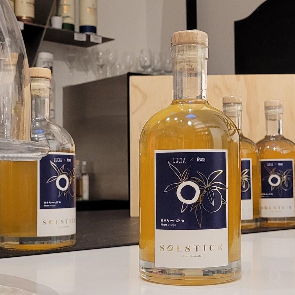 actualités : Collaboration LUCIA x MONO BLANKO : cuvée Solstice