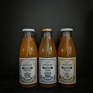 Sans alcool : Jus de Pomme - Les Jus de l'Apothicaire