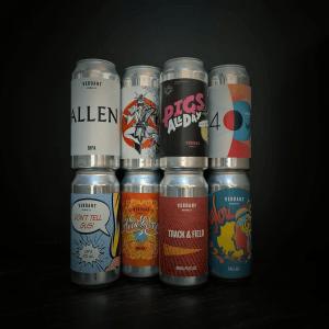 Bières en cannettes de la Verdant Brewing Co