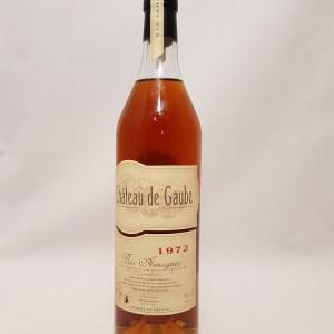 Château de Gaube 1972 Bas-Armagnac 45,6°