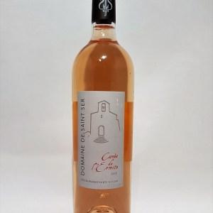 Domaine de Saint-Ser 2015 Cuvée de l'ermite Côtes de Provence Sainte victoire rosé BIO