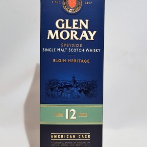 Glen Moray Speyside 12 ans single malt whisky 40°
