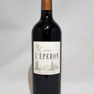 Château l'éperon Bordeaux rouge 2010