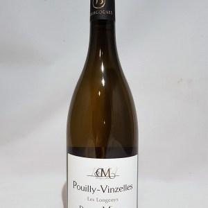 Domaine Mathias Les longeays Pouilly-Vinzelles blanc 2018 BIO