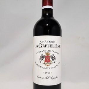Château La Gaffelière 1er Grand Cru Classé Saint Emilion 2015