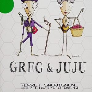 Greg et Juju blanc Igp Pays d'Oc 3 litres