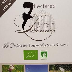 7 hectares Château de Lisennes rouge 3 litres BIO