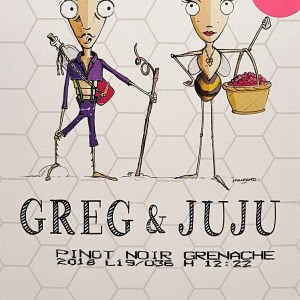 Bibs Greg et Juju rosé Igp Pays d'Oc 3 litres