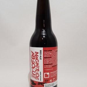 Bière locale Magnitude Absolue 33 cl Brasserie Bacquet et CIE
