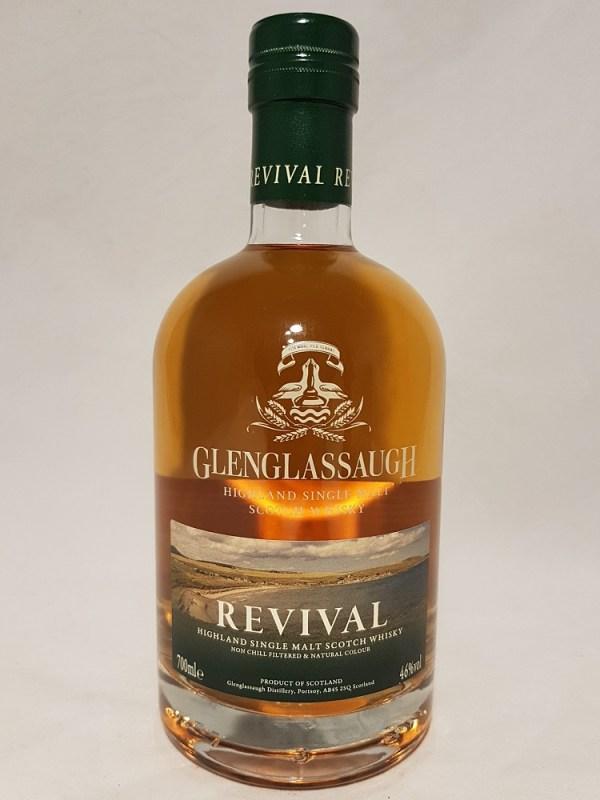 Revival de Glenglassaugh Highland single malt whisky 46°