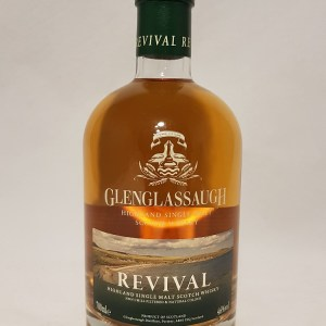 Revival de Glenglassaugh Highland single malt whisky 46°
