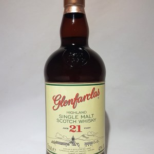 Highland Glenfarclas single malt scotch whisky 21 ans 43°