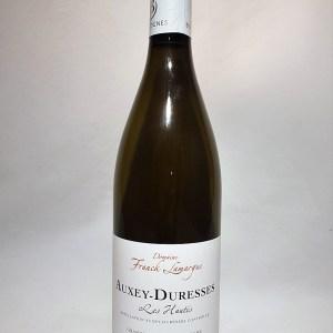Auxey-Duresses «les hautés» blanc Domaine Franck Lamargue 2018