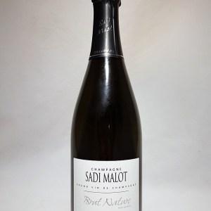 Champagne 1er Cru Blanc de Blanc Sadi Malot Brut Nature 12,5°