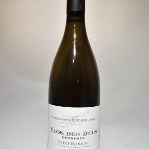 Saint Romain blanc «Clos des Ducs» Domaine Violot-Guillemard 2019