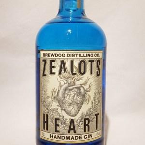 Gin Zealot's Heart de Brewdog distilling co.