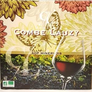 Minervois rouge Domaine Combe Lauzy bib 5 litres BIO