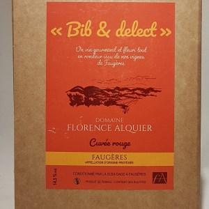 Faugères rouge Domaine Alquier Bib 5 litres
