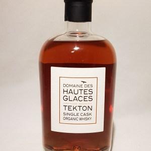 Domaine des Hautes Glaces Tekton whisky single malt BIO