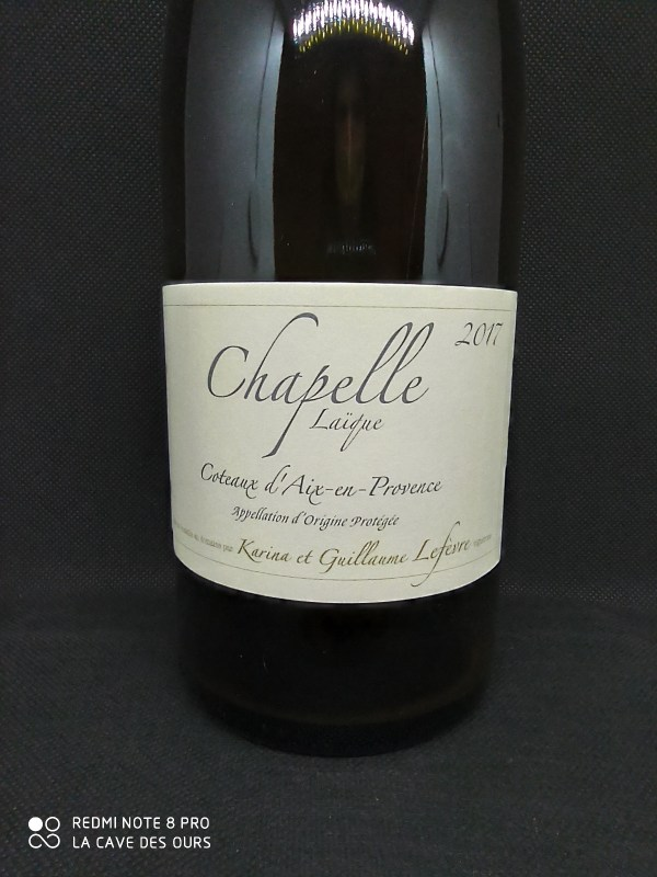 Chapelle Blanc close up