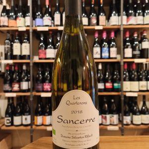 Sancerre white wine bottle