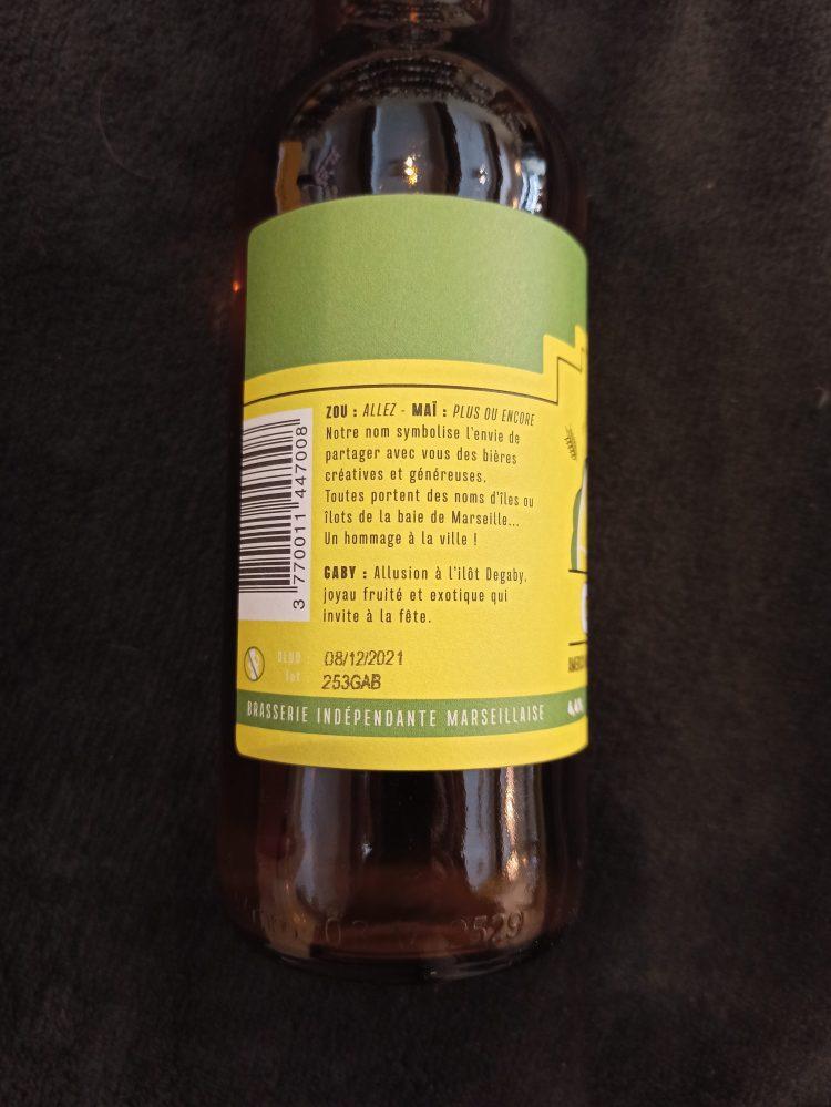 Gaby side label