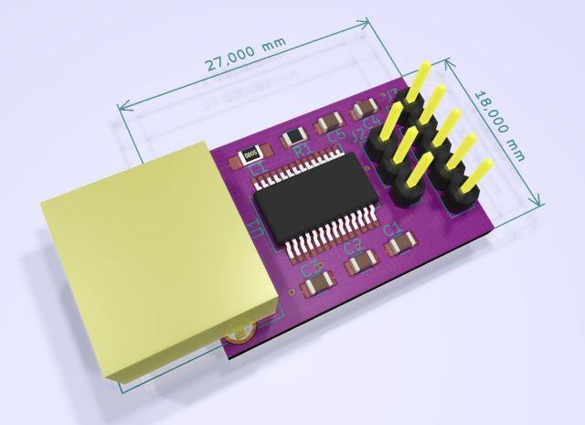 3D RS232 FTDI
