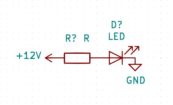 Montage LED