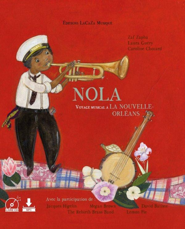 """Livre musical """"NOLA voyage musical à La Nouvelle-Orléans"""""""