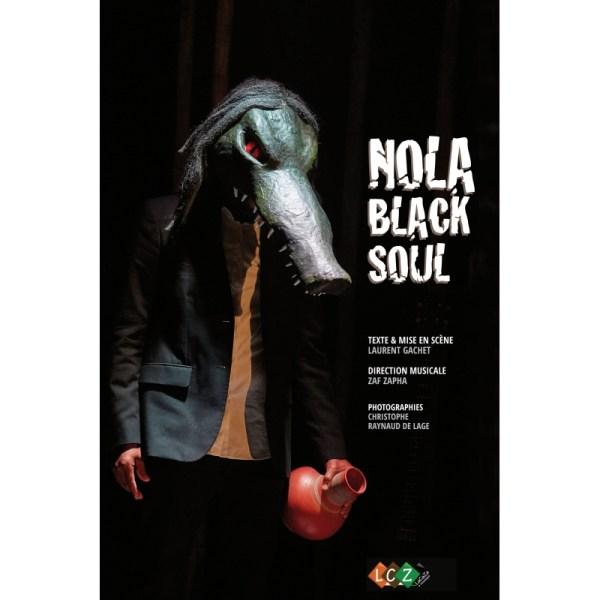 """Livre cd du spectacle """"nola black soul"""""""