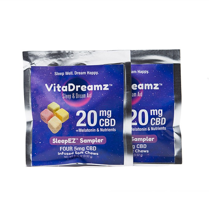 VITADREAMZ CBD Sleep & Dream Aid Soft Chews Sampler