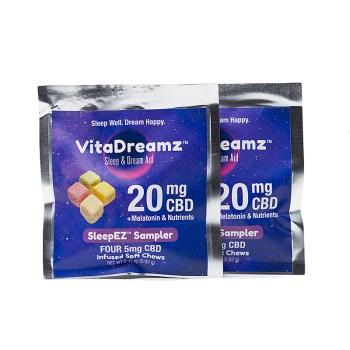 VITADREAMZ CBD Sleep & Dream Aid Soft Chews Sampler