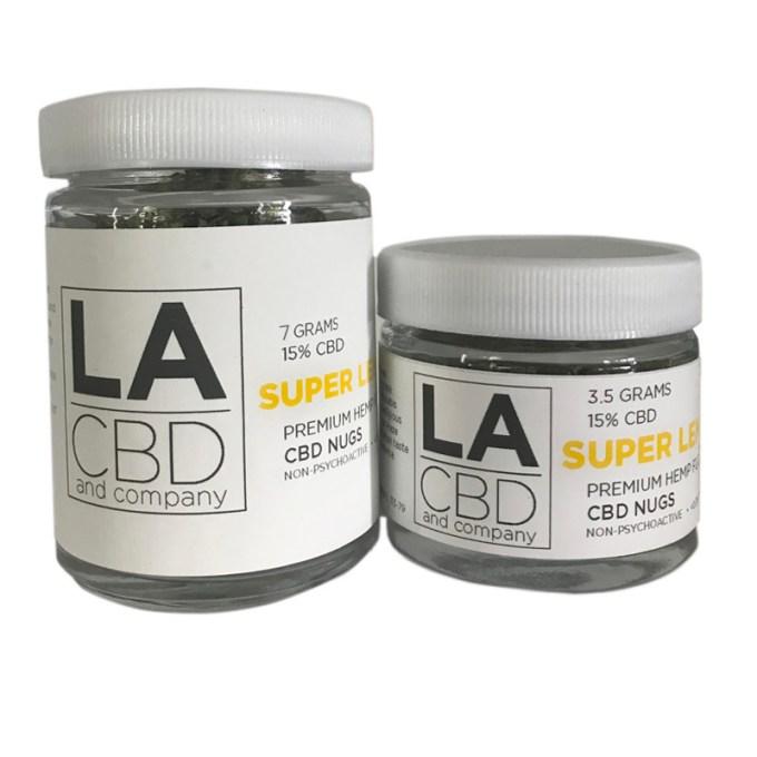 LACBD Super Lemon Haze Premium CBD Nugs
