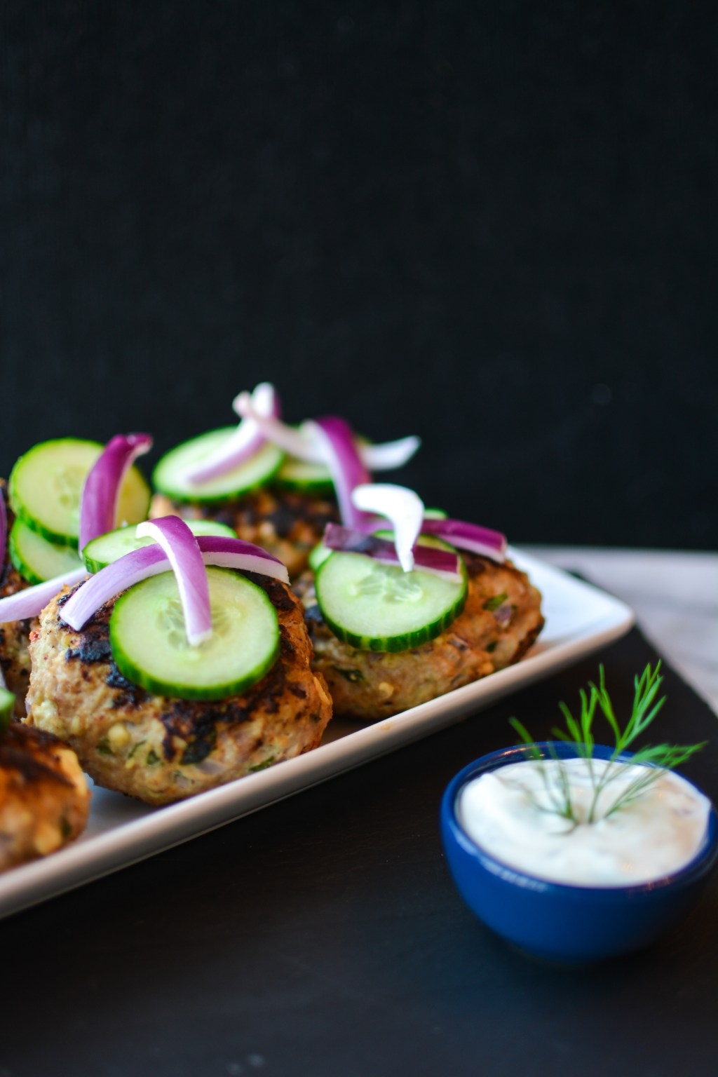 Flavorful Greek Turkey Burgers Recipe - @lacegraceblog1