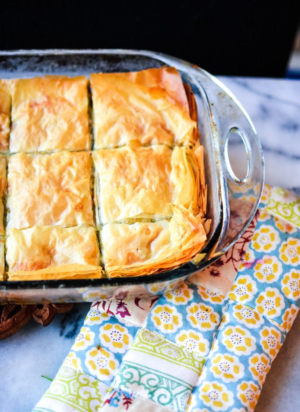 Best Homemade Spanakopita Recipe - Greek - @lacegraceblog1