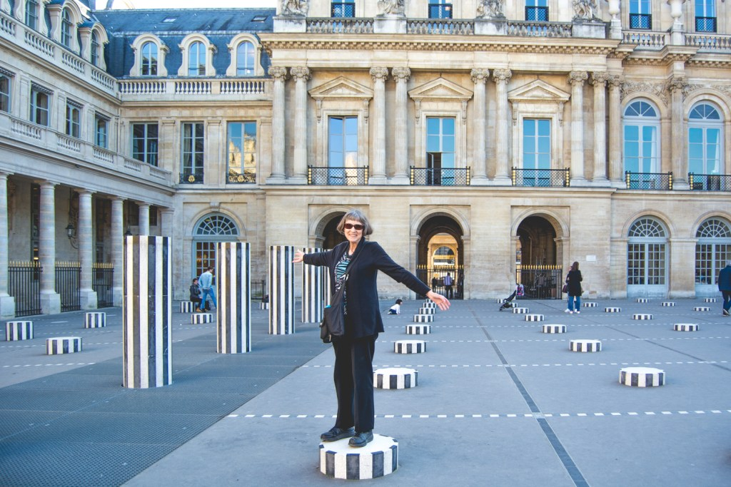 Playing around Outside Paris' Palais Royal - Paris Travel - @lacegraceblog1