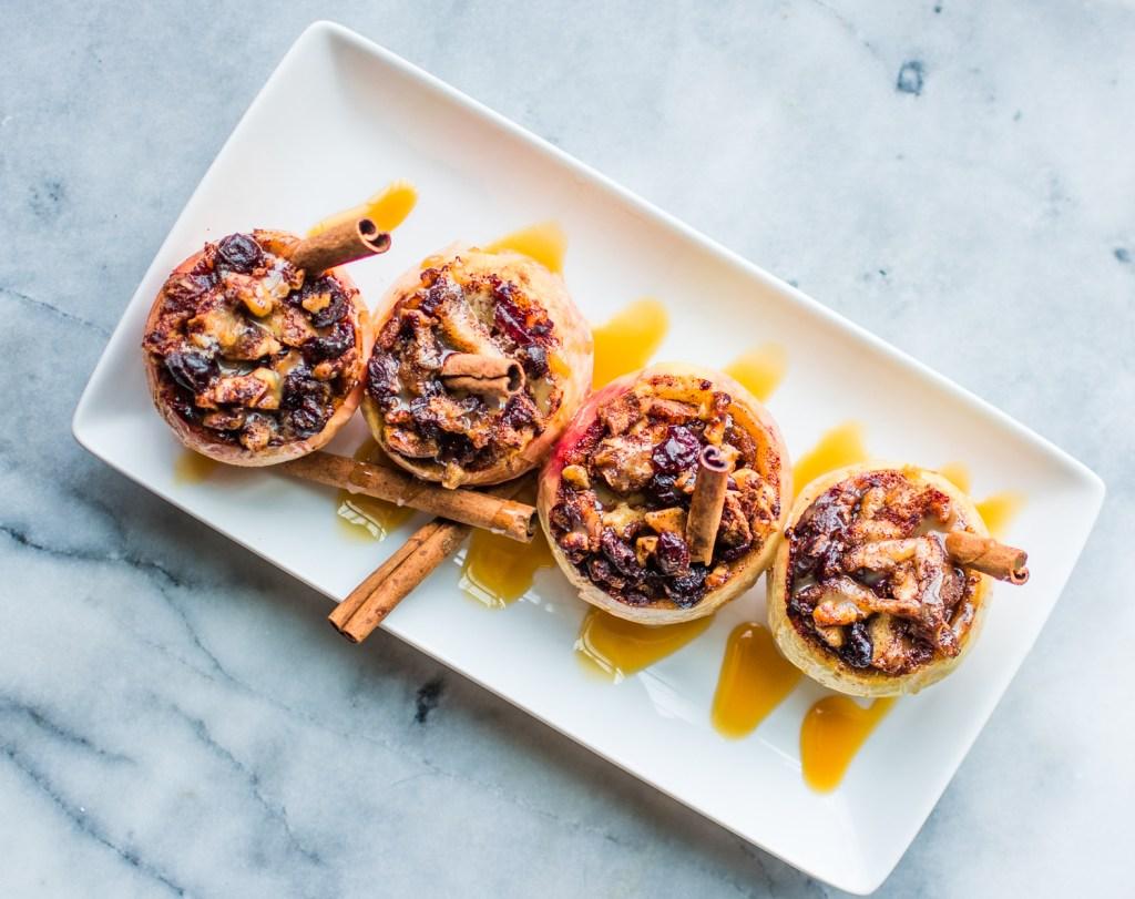Delicious Baked Stuffed Apples - Recipes - @lacegraceblog1