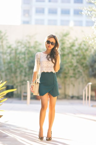 fashion blogger, asos skirt, petite fashion blog, fashionista, lace and locks, los angeles fashion blogger, leopard pumps, marc jacobs, outfit of the day, affordable fashion, asian fashion blogger, streetstyle