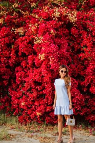fashion blogger, petite fashion blog, fashionista, lace and locks, los angeles fashion blogger, asos petite, spring fashion, louis vuitton crossbody, affordable fashion,streetstyle