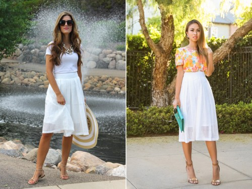 fashion blogger, petite fashion blog, fashionista, lace and locks, los angeles fashion blogger, white gingham midi skirt, chic street style, blogger collaboration, morning lavender boutique, morning lavender jewelry, affordable fashion