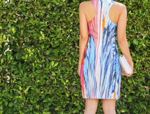 fashion blogger, petite fashion blog, fashionista, lace and locks, los angeles fashion blogger, bardot dress, nordstrom bardot, ted baker clutch, nordstrom anniversary sale