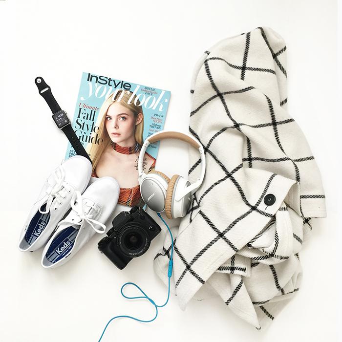 lace and locks, petite fashion blog, plaid fall cape