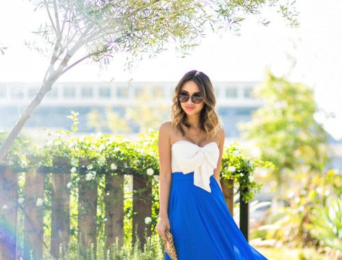 petite fashion blog, lace and locks, los angeles fashion blogger, BLUE maxi skirt, morning lavender skirt, flowy maxi skirts, skirt giveaway