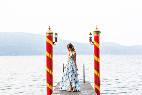 petite fashion blog, lace and locks, maxi shorts jumpsuit, yellow maxi dress, morning lavender dress, cute maxi dresses, travel blogger, lake garda