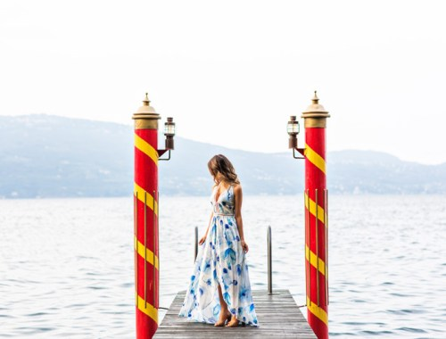petite fashion blog, lace and locks, maxi shorts jumpsuit, yellow maxi dress, morning lavender dress, cute maxi dresses, travel blogger, lake garda