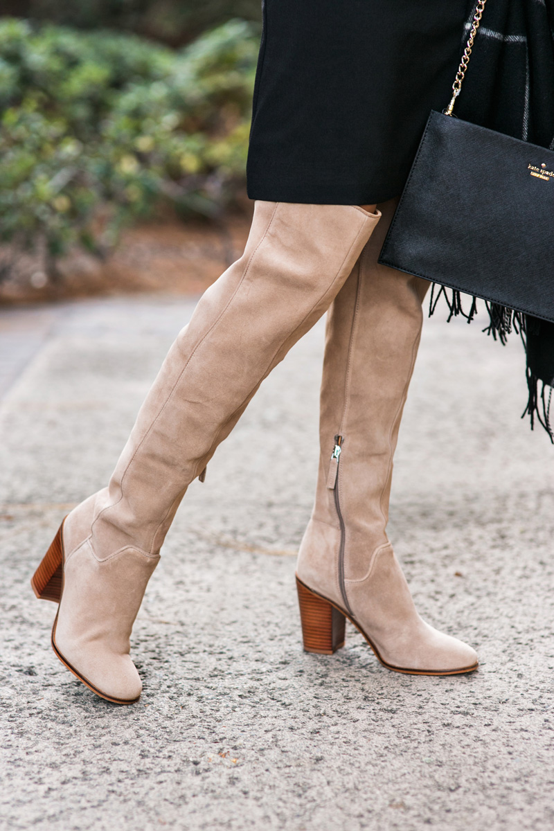 petite fashion blog, lace and locks, los angeles fashion blogger, oc fashion blogger, fall outfit, nordstrom fall fashion, over the knee suede boots
