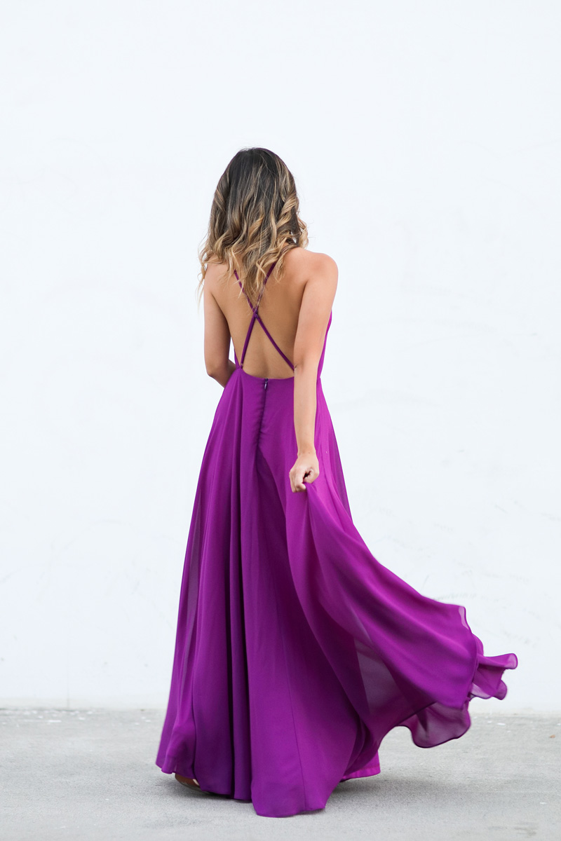 petite fashion blog, lace and locks, morning lavender dress, flowy maxi dress, oc fashion blogger, la fashion blogger, fall dresses, wedding guest dress