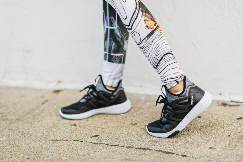 petite fashion blog, lace and locks, los angeles fashion blogger, oc fashion blogger, reebok workout clothes