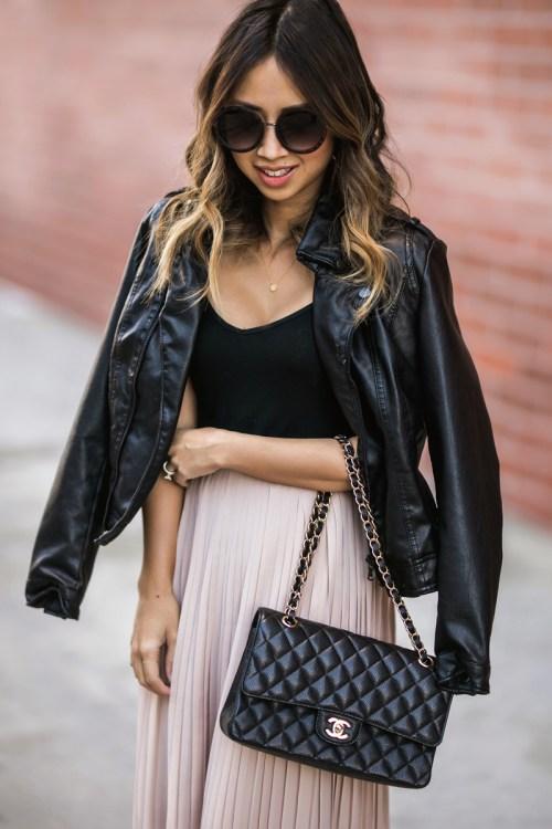 petite fashion blog, lace and locks, los angeles fashion blogger, oc fashion blogger, pleated maxi skirt, morning lavender boutique, feminine fashion
